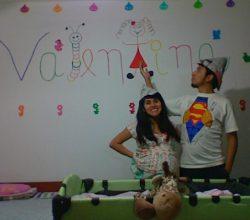 Cómo pintar el nombre de mi bebé en la pared