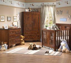 La habitación para el bebé
