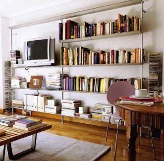 Biblioteca ligera y resistente