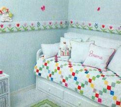 Cama - Decoración dormitorio de nenas