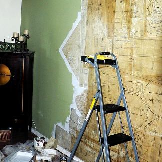Cómo empapelar las paredes