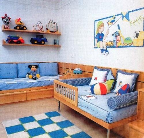 Decoración para cuarto de niños varones