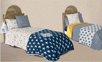 Dormitorio con textiles a su gusto