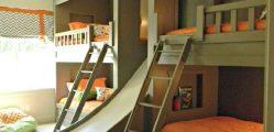 Dormitorios para compartir - Ideas de dormitorios para varios niños