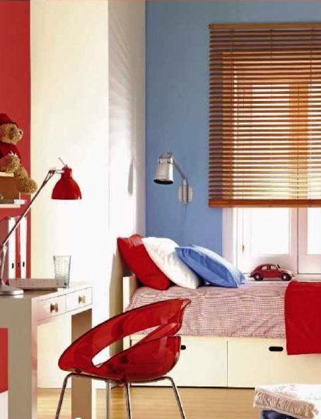 Dormitorios infantiles para jugar con el color
