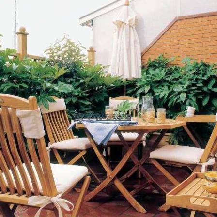 Pequeños espacios para terraza