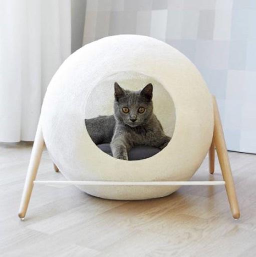 Cucha o Litera Burbuja para Mascotas