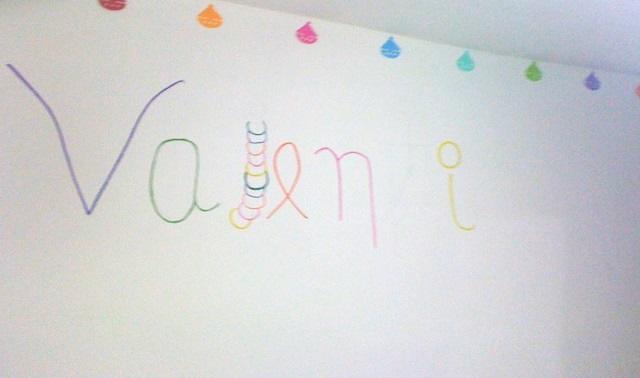 Dibujar el nombre de tu bebé